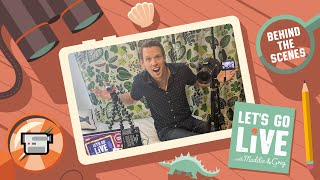Behind The Scenes of 'Let's Go Live' - Spare Room Studio Tour | #39 LET'S GO LIVE with Maddie & Greg