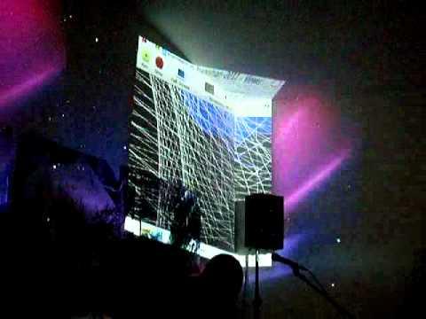 Eberhard Kranemann / Gregor Eisenmann Multimedia-Performance in Utopiastadt, 10. December 2011 - 7