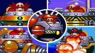 Sonic The Hedgehog 3 - All Bosses (No Damage)