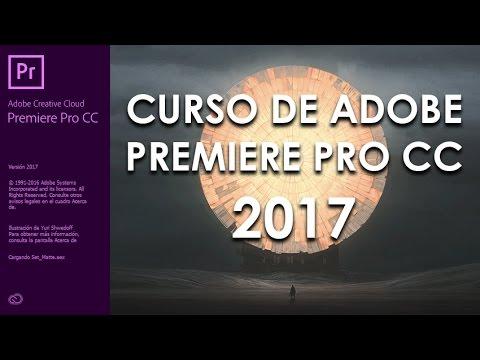 CURSO DE ADOBE PREMIERE PRO CC 2017 - COMPLETO