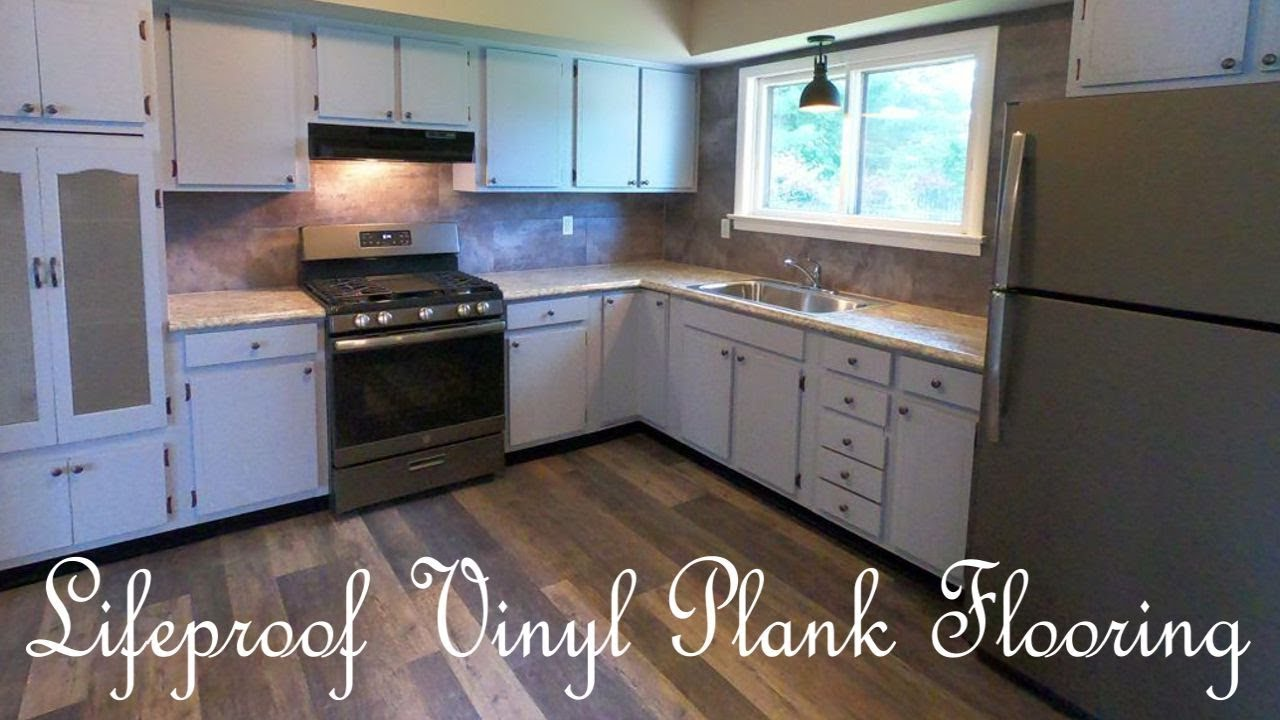 Lifeproof Vinyl Plank Flooring Review After Installation Youtube
