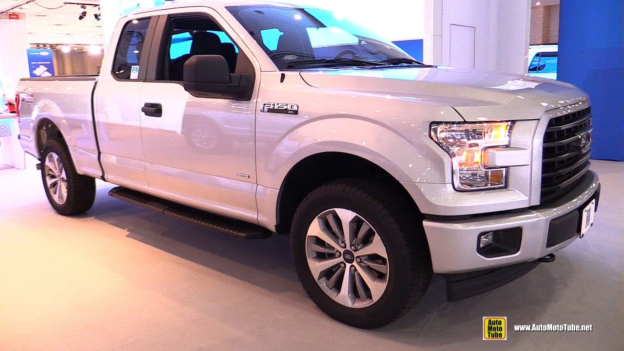 2017 ford f150 xl super cab exterior and interior walkaround 2017 ny auto show