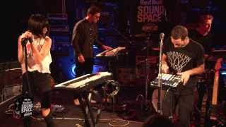 Phantogram - fall in love (live the red bull sound space at kroq)