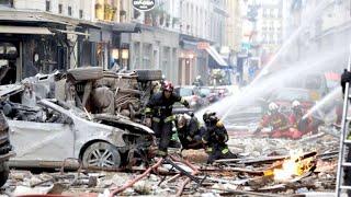 Mehrere Verletzte bei schwerer Explosion in Paris