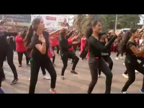 St Agnes College Mangaluru | FLASH MOB DANCE | centennial year celebrations