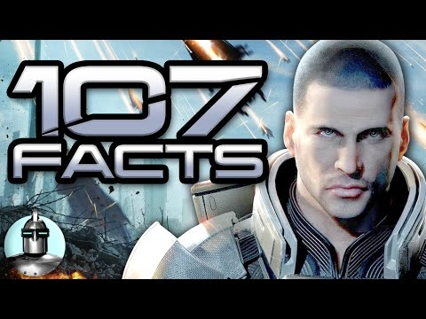 107 MASS EFFECT ANDROMEDA (+Trilogy) Facts YOU Should KNOW | The Leaderboard