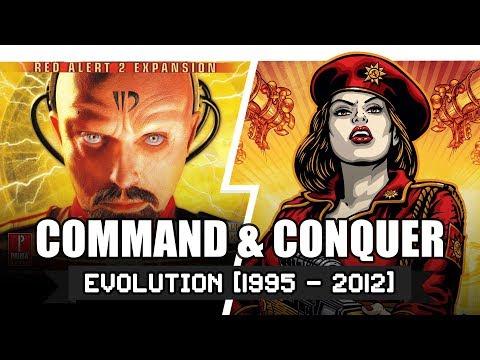 วิวัฒนาการ Command & Conquer ปี 1995 - 2012