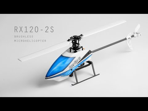 Printed Helicopter RX120-2S