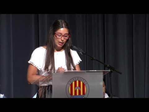 Cerimònia de graduació de la Facultat de Filosofia i Lletres de l'any acadèmic 2016-17