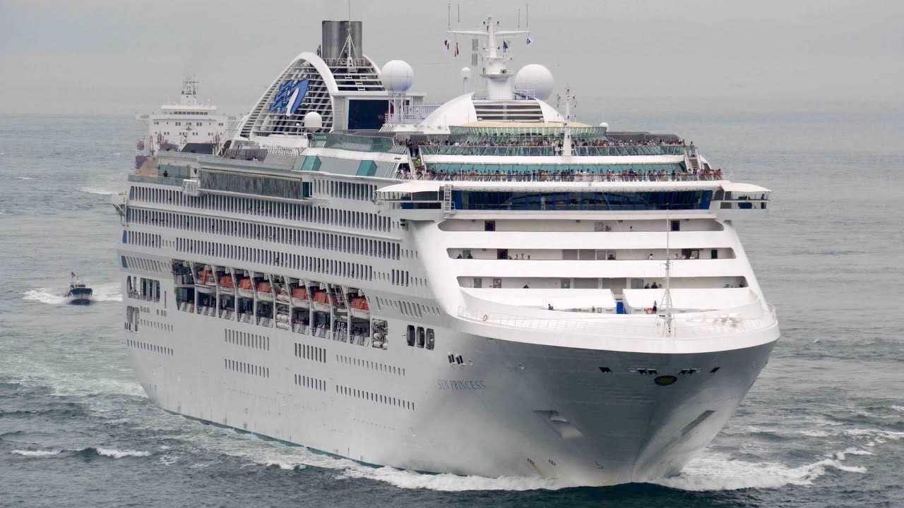 SUN PRINCESS Princess Cruises Lines Cruise Ship June - Cruise ship cam