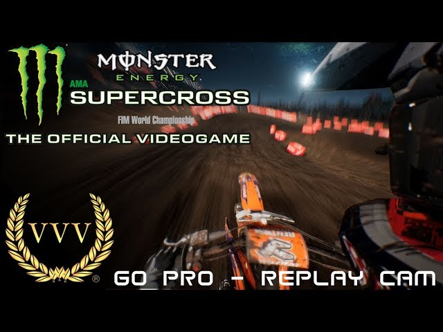 Monster Energy Supercross Daytona Replay cams