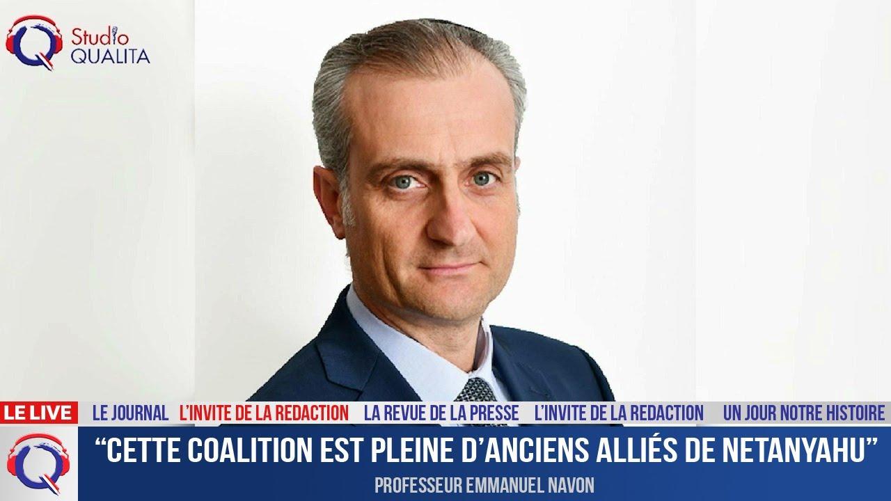 """""""Cette coalition est pleine d'anciens alliés de Netanyahu"""" - L'invité du 10 juin 2021"""