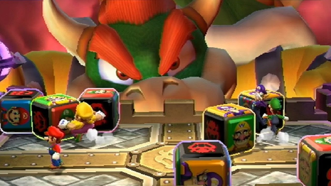 Mario Party 9 Party Mode Bowser Station Master Difficulty