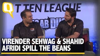 Virender Sehwag and Shahid Afridi Spill the Beans | The Quint