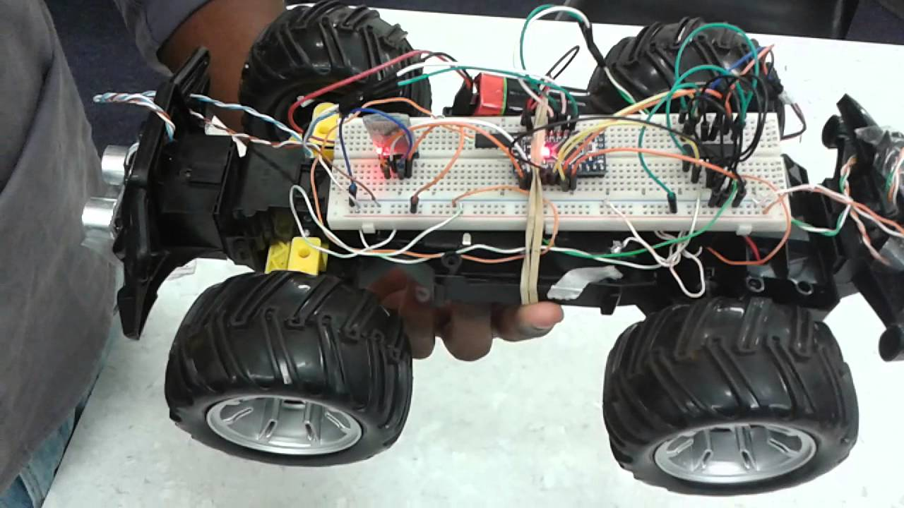 Control rc car with bluetooth vai arduino pro mini youtube