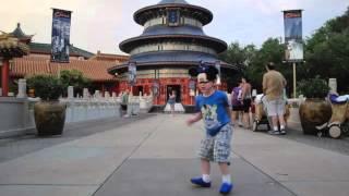 2012 Sean demonstrates Mouse Gung Fu at Epcot Thumbnail