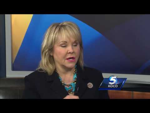 Gov. Mary Fallin discusses education, plan to fill budget hole