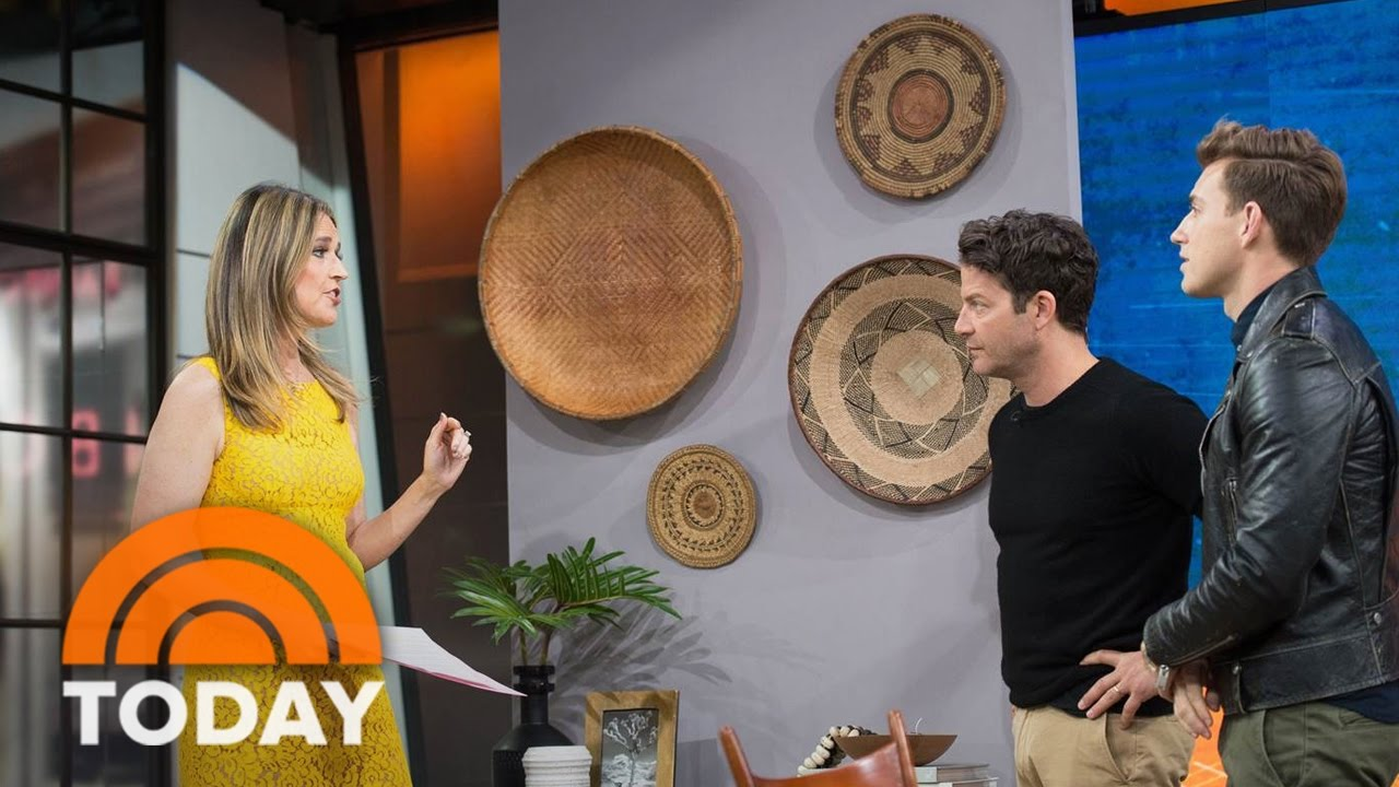Nate Berkus Decorating Show nate berkus and jeremiah brent show you how to spruce up your home