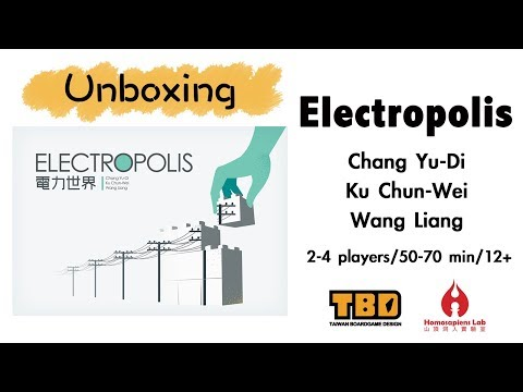 Speedy Unboxing Video of Electropolis