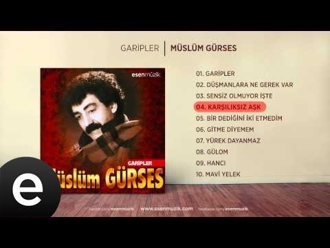 Karşılıksız Aşk (Müslüm Gürses) Official Audio #karşılıksızaşk #müslümgürses