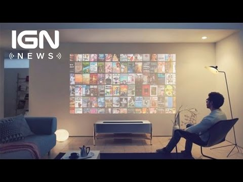 Sony Shows Off Its Newest 'Life Space' UX 4K Projector - IGN News