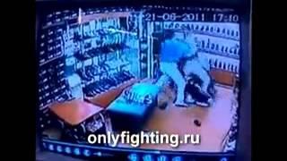 Драка в Казахстане