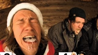 Drinking HOT CANDLE WAX with Bam Margera!