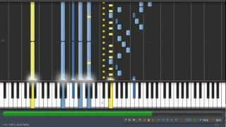 Mozart Sonata in D for Two Pianos- Synthesia