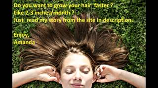 how to make your hair grow faster and longer mpg