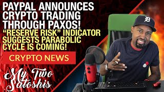 Bitcoin (BTC) To Be Traded on Paypal Soon Thru Paxos Deal! Reserve Risk Indicator Says Moon Soon!