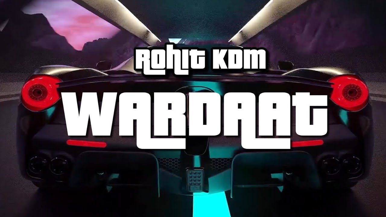 Wardaat | Rohit KDM | (Official Audio) | Latest Hindi Rap Song 2020