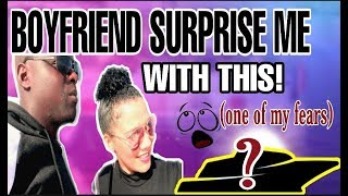 UNEXPECTED SURPRISE FROM BOYFRIEND.. ONE OF MY BIGGEST FEARS!! #southafrica South African YouTuber