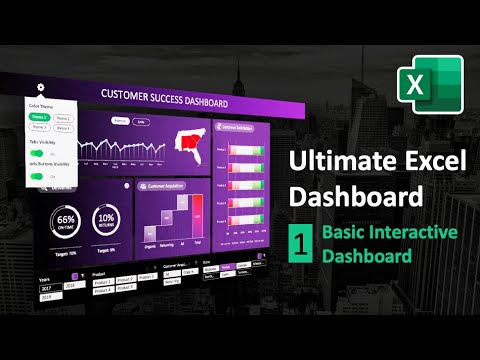 How to Create Impressive Interactive Excel Dashboard | Ultimate Excel Dashboard Ep. 1