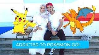 POKEMON GO GATHERING AT THE BEACH! | Ruba Zai