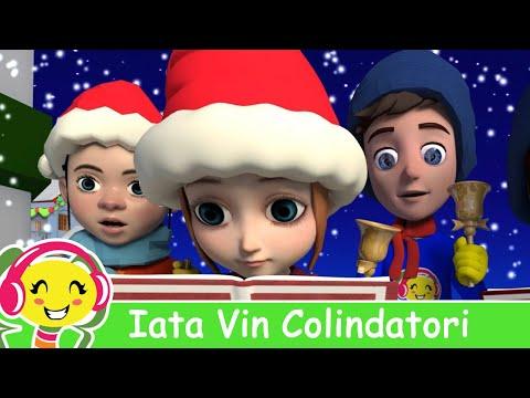 Iata Vin Colindatori, Florile Dalbe  - Colinde Pentru copii