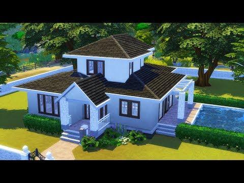 On termine votre maison sims 4 youtube for Maison prefabriquee sims 4