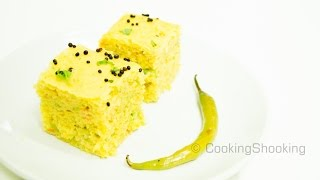 Vegetable Khaman Dhoklas Recipe - Instant Nylon Khaman Dhokra Without ENO/Fruit Salt