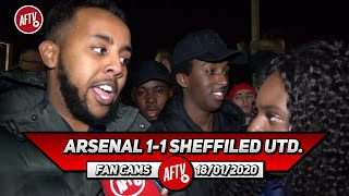 Arsenal 1-1 Sheffield Utd. | Martinelli Played Great & Even Mustafi Was Alright! (Livz)