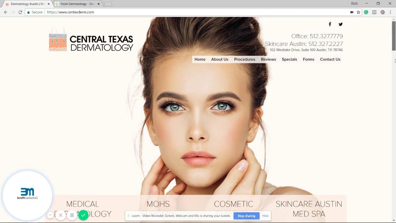Central Texas Dermatology FB pixel