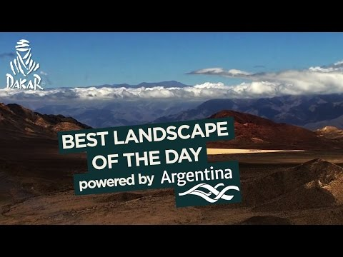 Stage 10 - Landscape of the day; powered by Argentina