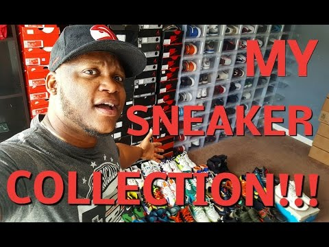 MY ENTIRE SNEAKER COLLECTION!!!