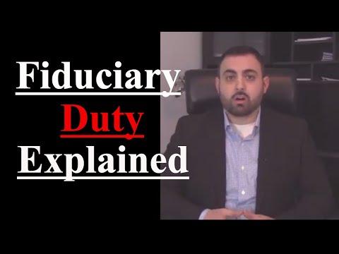 Executor Fiduciary Duty Explained