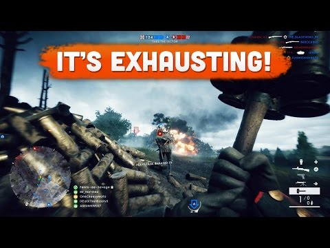 IT'S EXHAUSTING! - Battlefield 1 | Road to Max Rank #32 (Multiplayer Gameplay)