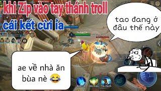 Troll Game _ Khi Zip Rơi Vào Tay Thánh Yo Game Hài Cười ỉa