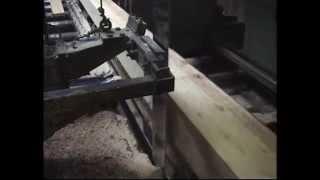 Sawmill , Bandsäge  , Bandsaw Blade  , Bandsägenblatt , Stauchen