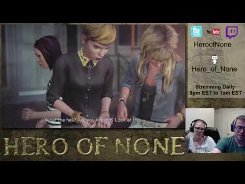 """Aliceink & Heroofnone do """"Life is Strange"""" (night 2)"""