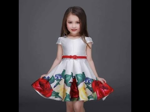 9a093b7943df6 فساتين اطفال بنات صيف 2016 - fashion clothes for kids - YouTube