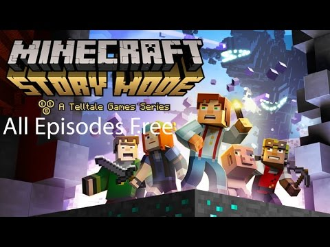 How To Get All Minecraft Story Mode Episode Free!!! (Android)