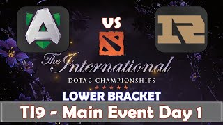 Alliance Vs Rng  The International 2019  Dota 2 Ti9 Live  Lower Bracket  Main Event Day 1