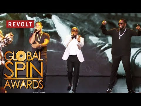Diddy, Jermaine Dupri, Snoop Dogg, and Ludacris perform Welcome to Atlanta  Global Spin Awards